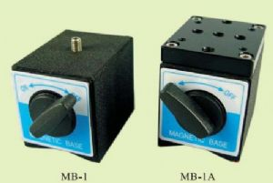 Magnetic base, tapped holes - MB-1A